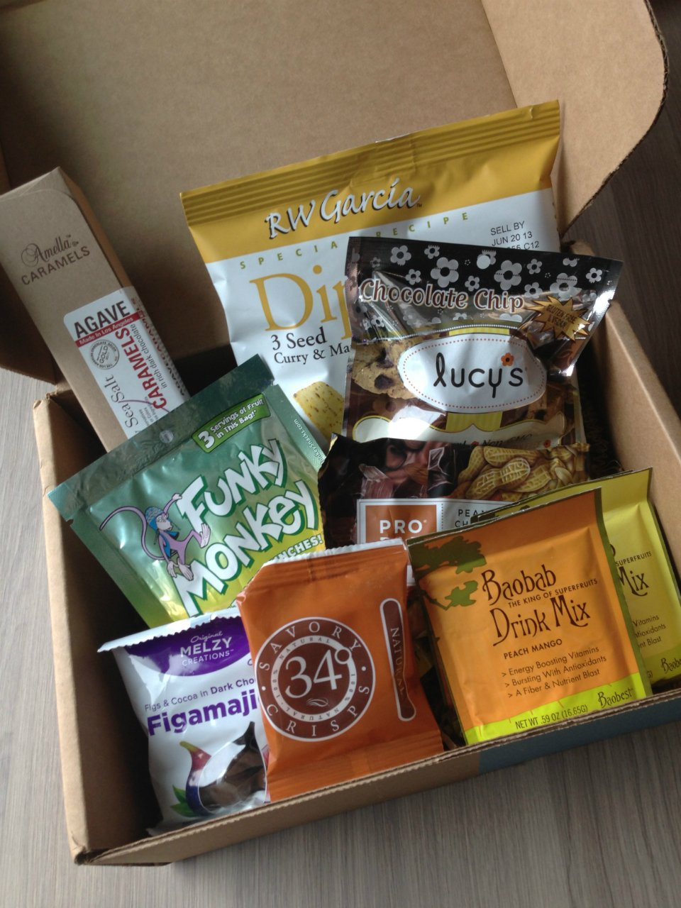 Blissmo Box - January 2012 Review - Feel Good Snacks - Monthly Eco-Friendly Subscription Service