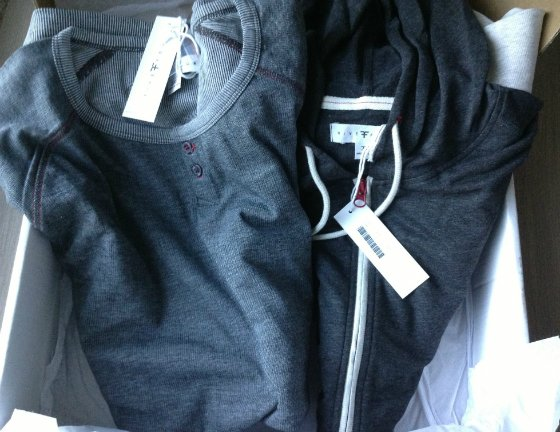 Five Four Club Review - Clothing Subscription Box for Men - May 2013