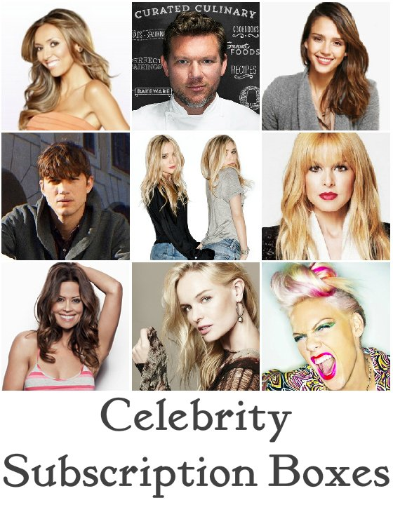 The Celebrity Subscription Box Trend - What Box Do You Want to See Next?
