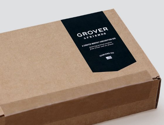 New Men's Clothing Subscription Service - Grover & Friends