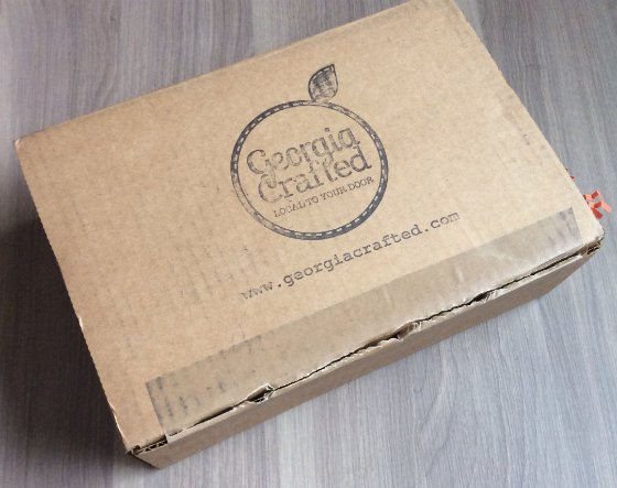 Georgia Crafted Subscription Box Review - Dec 2013 Box Review