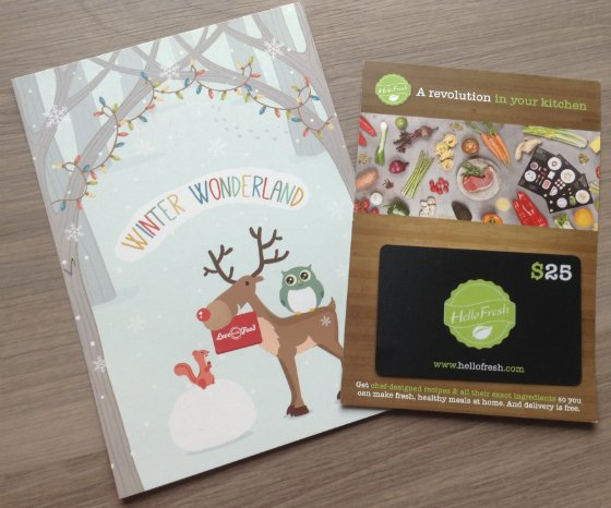 Love with Food Review & Coupon - December 2013 Card