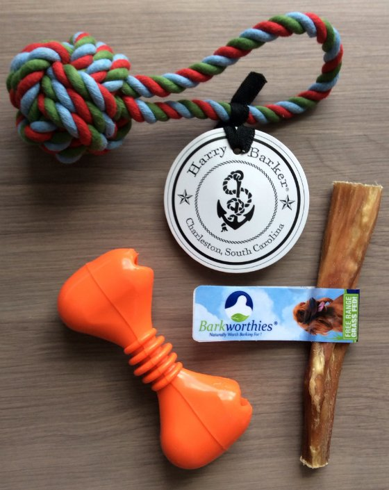 BarkBox Review & Coupon Code - January 2014 Toys
