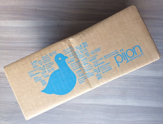 Pijon Box Review Feb 2014 - College Subscription Box Pijon