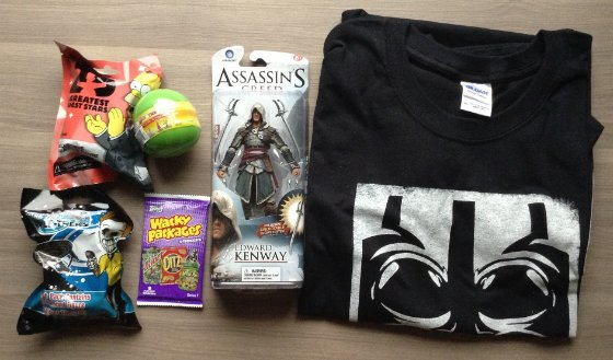Nerd Block Subscription Box Review - March 2014 Items