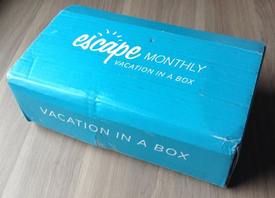 Escape Monthly Review & Coupon Code - April 2014 Box