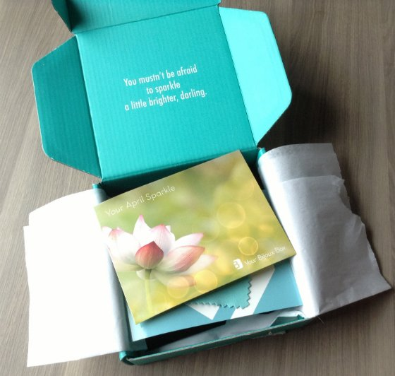 Your Bijoux Box Jewelry Subscription Review - April 2014 First Look
