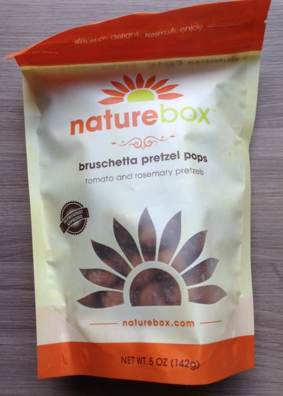 Nature Box Healthy Snack Subscription Review & 50% Off Coupon Pretzels