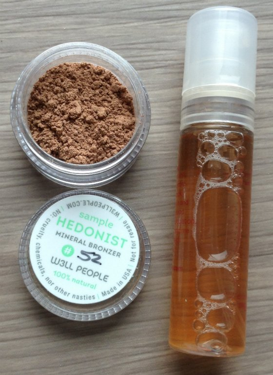 Saffron Rouge Beauty Subscription Box Review - May 2014 Powder