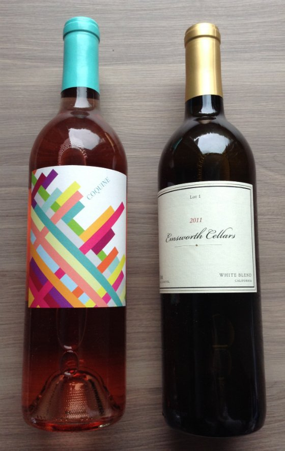 Club W Wine Subscription Box Review - July 2014 Rose