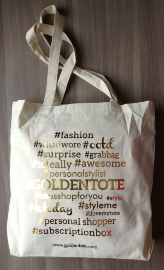 Golden Tote Review - June