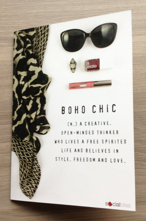 SocialBliss The Style Box Subscription Review – June 2014 Boho Chic