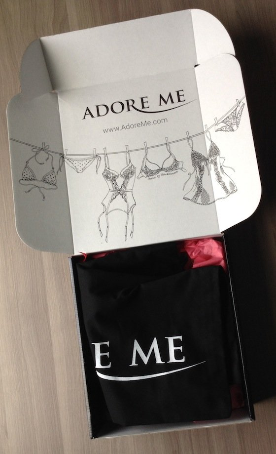 Adore Me Subscription Box Review - August
