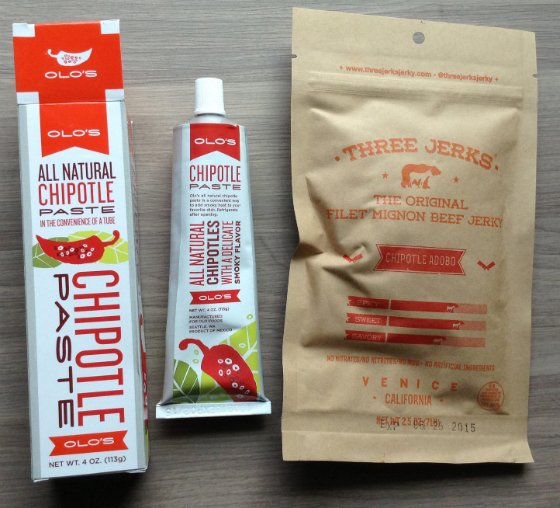 Mantry Food Subscription Box Review & $25 Coupon - July 2014 Jerky