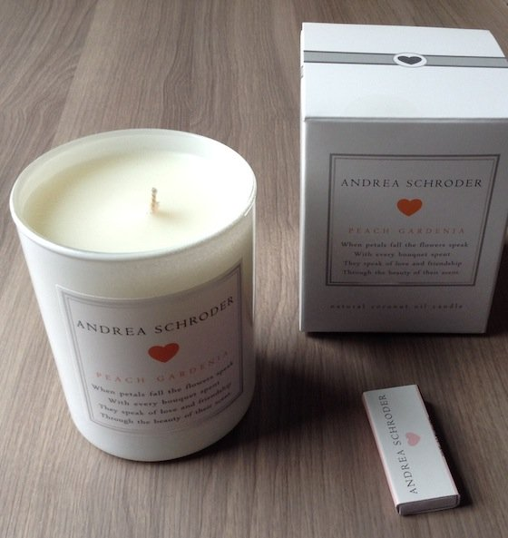 Andrea Schroder Candle Subscription Box Review - Sept 2014 Candle