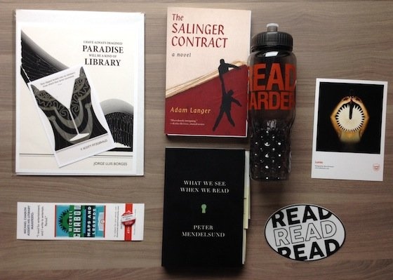 Book Riot Quarterly Subscription Box Review #BKR04 Items
