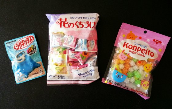 Japan Crate Subscription Box Review - September 2014 Sweets
