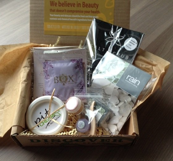 Bare Bliss Box Subscription Review – October 2014  Items