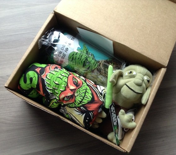 Hero Crate Subscription Box Review - October 2014 First Look