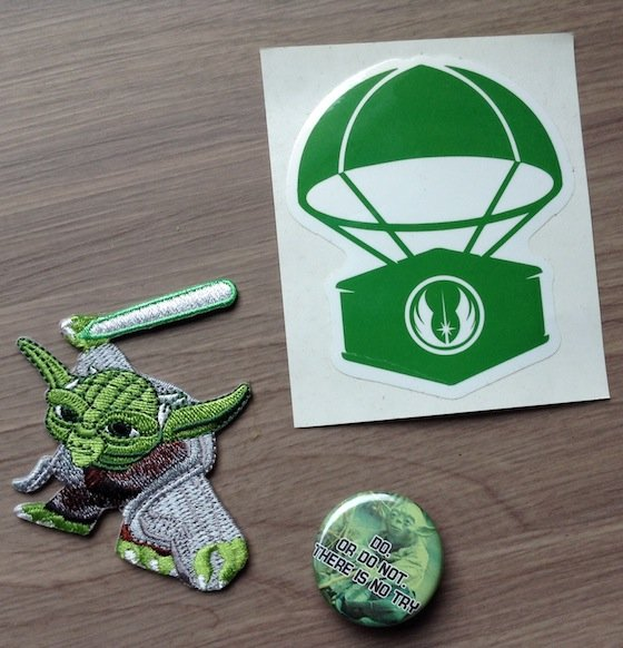 Hero Crate Subscription Box Review - October 2014 Sticker
