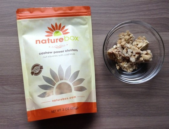 Nature Box Subscription Review & 50% Off Coupon - Oct 2014 Clusters