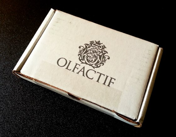Olfactif Perfume Subscription Box Review – October 2014 Subscription