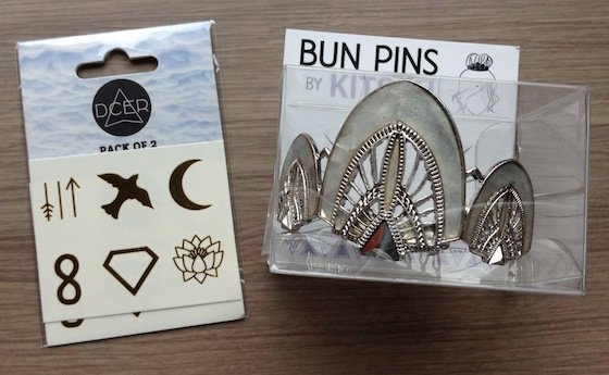 Rockettes Fancy Box Review – October 2014 Bun Pins