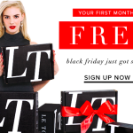 Le Tote Black Friday Deal – First Month Free!