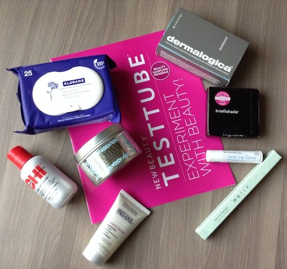 New Beauty Test Tube Subscription Box Review – Nov 2014 Items