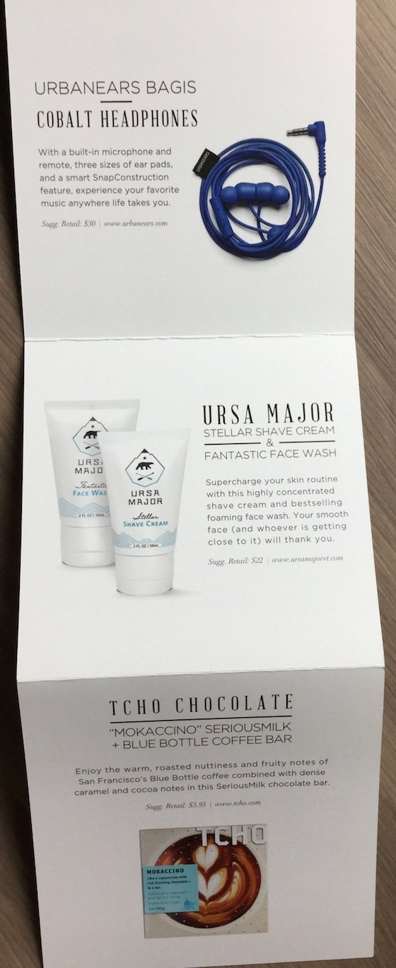 POPSUGAR Must Have Special Edition Holiday Box For Him Review Info 2