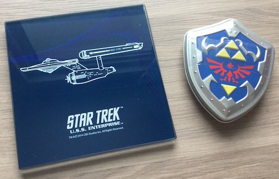 Geek Fuel Subscription Box Review – January 2015 Star Trek