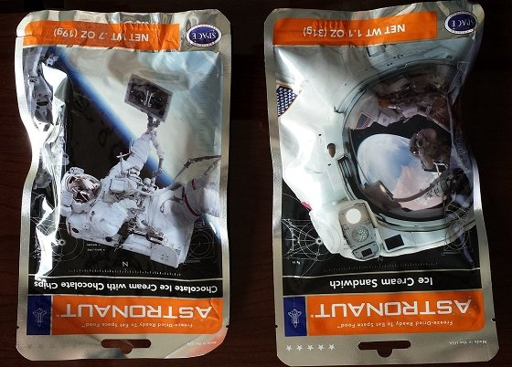 My Pretend Place Subscription Review - January 2015 Astronaut Food