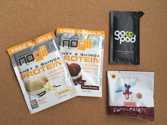 FitSnack Subscription Box Review - January 2015 Nogii