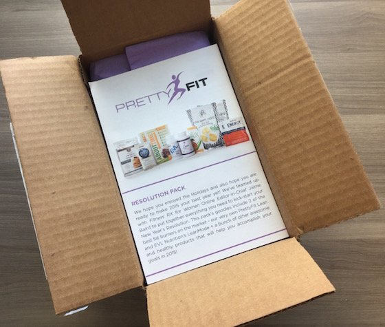 PrettyFit Fitness Subscription Box Review + Coupon - Feb 2015 Box
