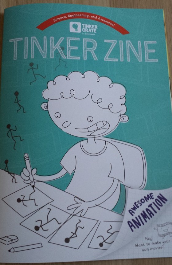 Tinker Crate Subscription Box Review – January 2015 Magazine