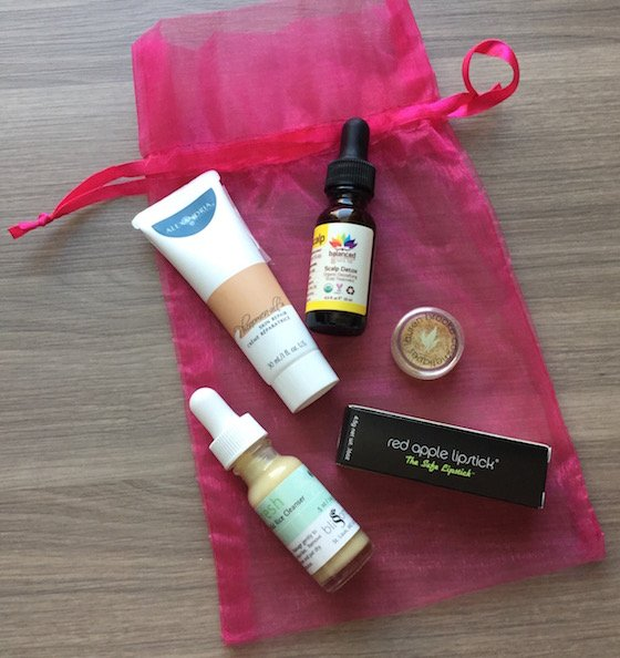Vegan Cuts Beauty Box Subscription Review – February 2015 Items