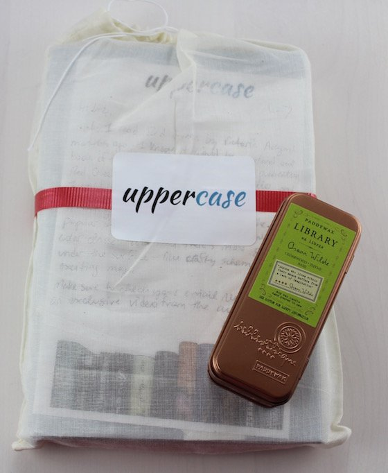 Uppercase YA Book Subscription Box Review – March 2015 Items