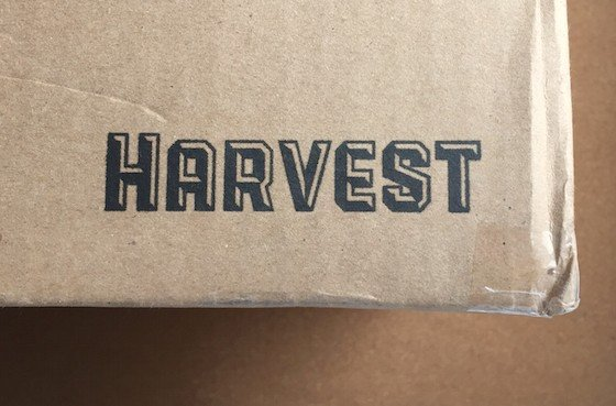 Harvest Subscription Box Review - Spring 2015 - Box