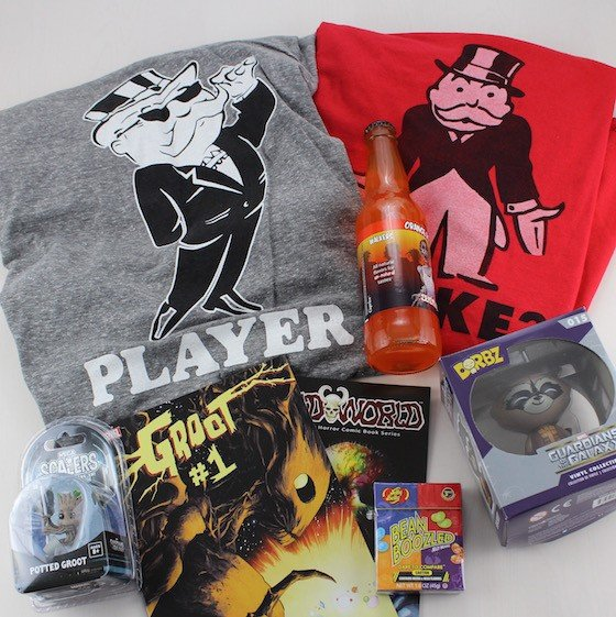 Power Up Box Subscription Box Review – June 2015 - items