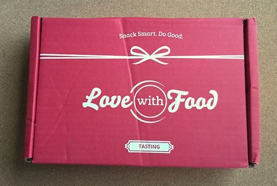 Love with Food Subscription Box Review & Coupon – July 2015 - Box