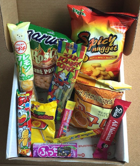 MunchPak Subscription Box Review + Coupon - July 2015 - Contents