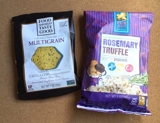 Snack Sack Subscription Box Review - July 2015 - Multigrain