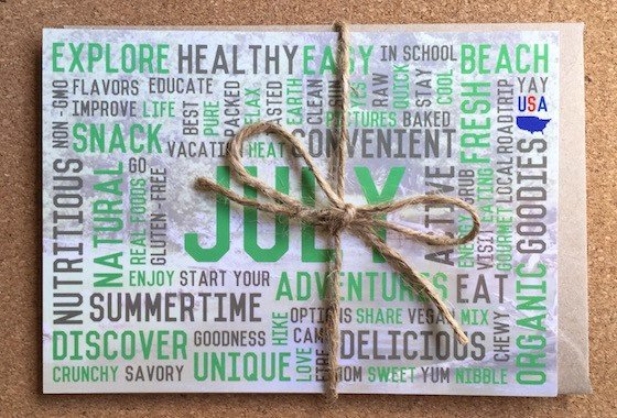 Snack Sack Subscription Box Review - July 2015 - Papers