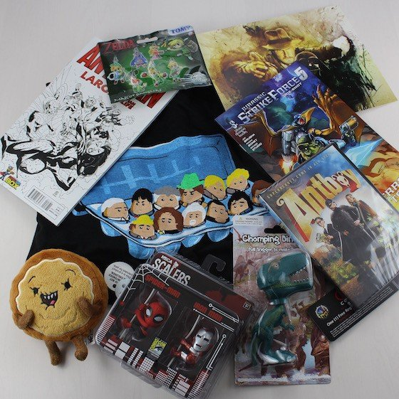 Comic Con Box Subscription Box Review - June 2015 - items