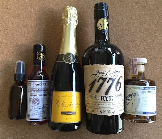 Bitters + Bottles Subscription Box Review - August 2015 - Contents