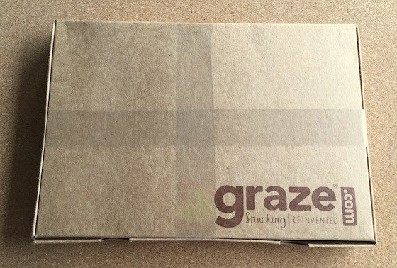 Graze Subscription Box Review + Free Box Coupon – August 2015 - Box