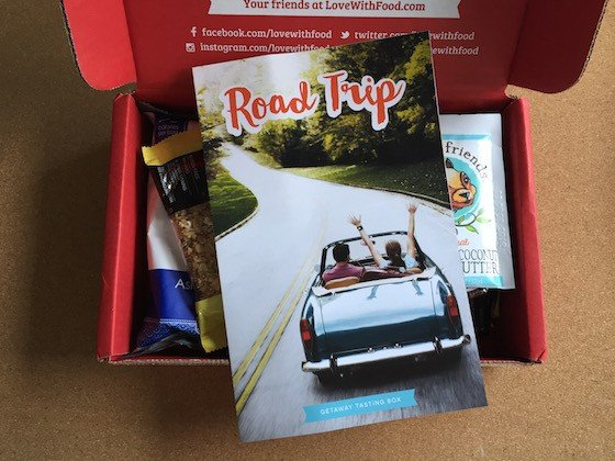 Love with Food Subscription Box Review & Coupon – August 2015 - Inside