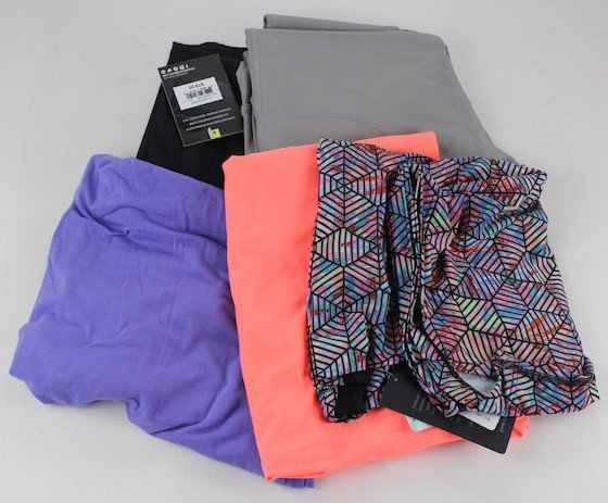 Wantable Fitness Subscription Service Review – August 2015 Items