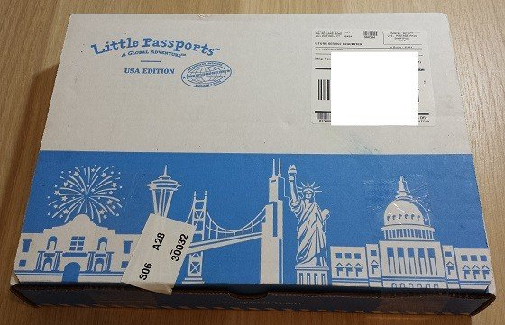 Little Passports USA Subscription Box Review September 2015 - Package