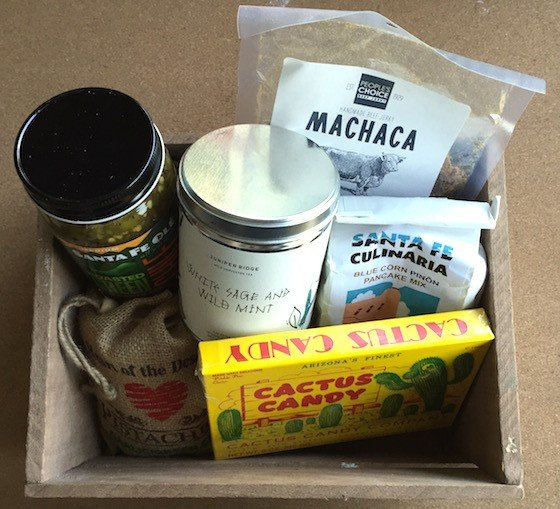 Mantry Subscription Box Review August 2015 - Contents